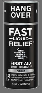 fast hangover relief liquid