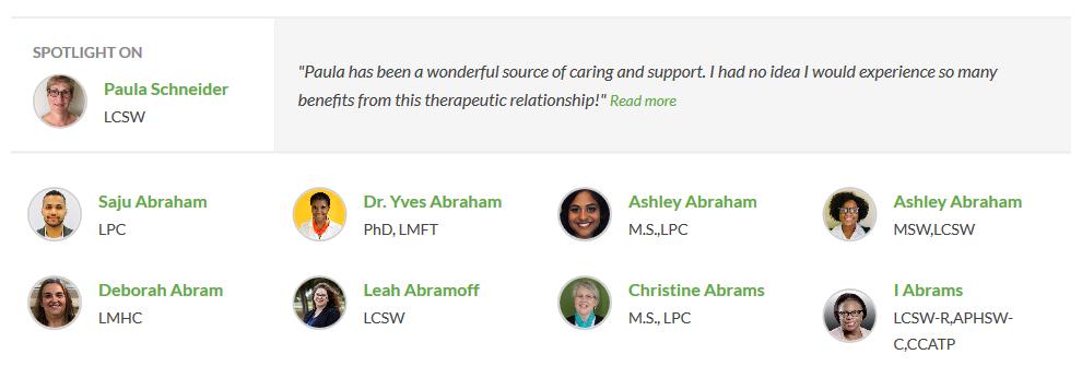 betterhelp counselors directory screenshot